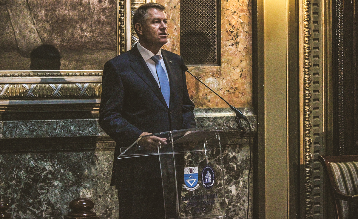 """""""TUIASI, un port-drapel al învățământului tehnic românesc"""". Președintele României, Klaus Iohannis, la deschiderea anului universitar"""