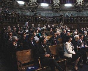 """100 de ani de la înființarea Asociației Generale a Inginerilor din România, celebrați în Aula Magna """"Carmen Sylva"""" a Universității Tehnice"""