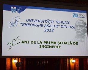 Profesorii, cercetătorii și studenții Universității Tehnice au celebrat împlinirea a 205 ani de inginerie la Iași
