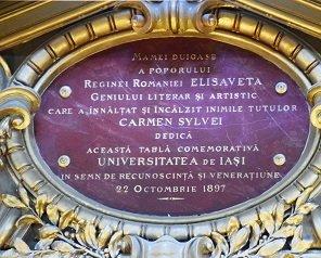"""Universitatea Tehnică a inaugurat, în anul Centenarului, Aula Magna """"Carmen Sylva"""""""