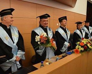 """Prof. univ. dr. ing. mat. Daniel Condurache, prorector TUIASI, doctor honoris causa al Universității """"Dunărea de Jos"""" din Galați"""