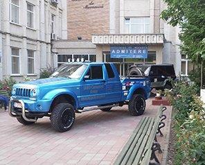 Echipa iARO Camarad de la Facultatea de Mecanică participă la Salonul Internațional Auto București 2015