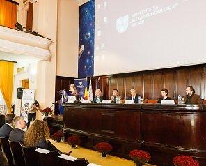 """Universitățile de stat le-au urat """"bun venit!"""" studenților ajunși în Iași cu Erasmus"""