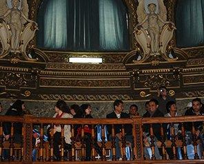 Muzică tradițională și plăcinte la Erasmus Welcome Day 2015
