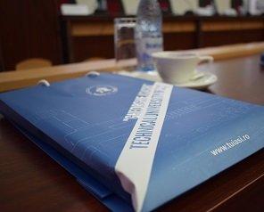 O delegație europeană de experți în e-guvernare a vizitat laboratoarele Universității Tehnice