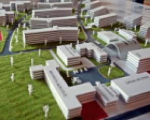 Machetă și simulare 3D a Campusului Tudor Vladmirescu
