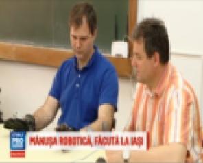 """Un profesor de la Universitatea Tehnică """"Gheorghe Asachi"""" din Iași a inventat o mănușă mecatronică pentru bolnavii de paralizie"""