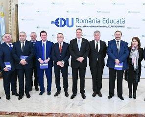 """Rectorul TUIASI a reprezentat Politehnica ieșeană la lansarea proiectului """"România Educată"""""""