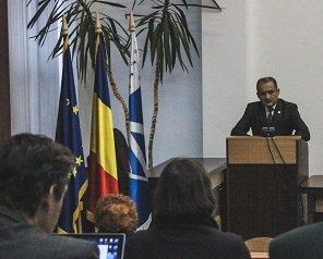 Academicianul Alexandru Zub a ținut o prelegere despre discursul istoric la Universitatea Tehnică