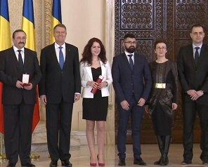 """Universitatea Tehnică """"Gheorghe Asachi"""" din Iași a fost decorată de președintele României, Klaus Iohannis"""
