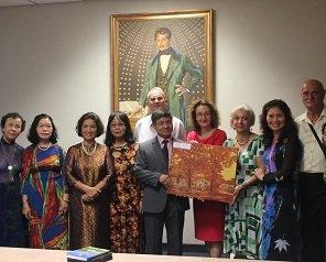 TUIASI, vizitată de șase absolvenți vietnamezi care au studiat acum peste 40 de ani la Politehnica ieșeană